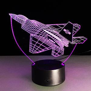 3D Ночник Самолет