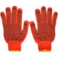 Перчатки рабочие трикотажные с точкой ПВХ