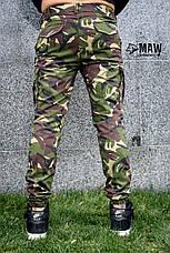Брюки карго мужские милитари британка Cargo MAW Manandwolf street wear рип-стоп (50/50)  , фото 3
