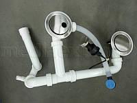 Навесное оборудование DEANTE ZXY 9944 гранита 1,5 и 2 камерных раковины