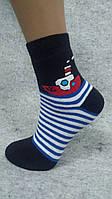 Детский носок, полный плюш, Зима, хлопок, Кораблик