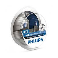 Лампа галогенная Philips Diamond Vision H1 +30% PS 12258 DV  Германия(2шт)