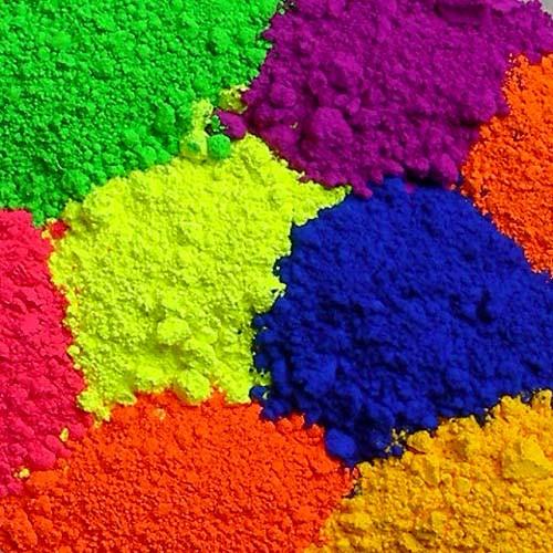 Флуоресцентные пигменты, люминофор