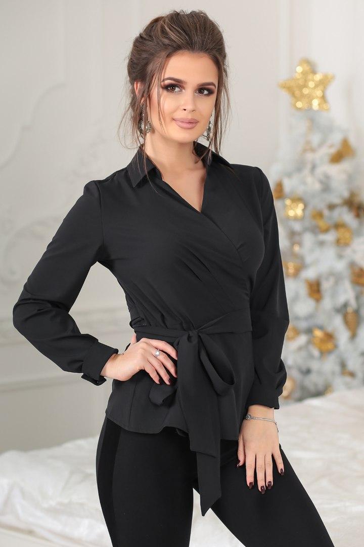 Рубашка женская 3007лб , белая,черная,розовая