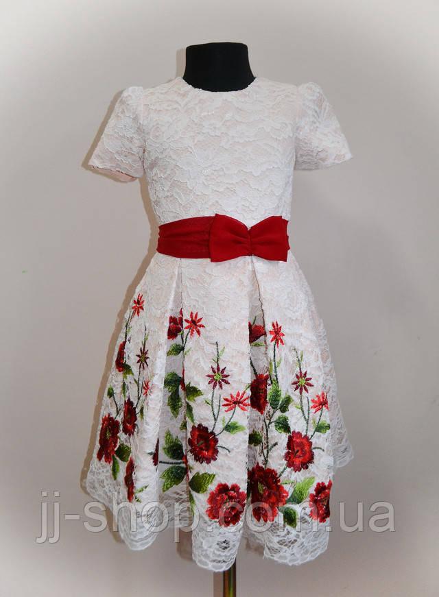 Платье детское праздничное нарядное