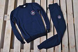 Спортивный костюм утепленный Converse темно-синий