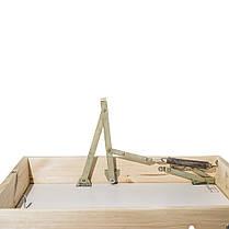 Лестница на чердак 90*60 см метал/дерево (Украина), фото 3