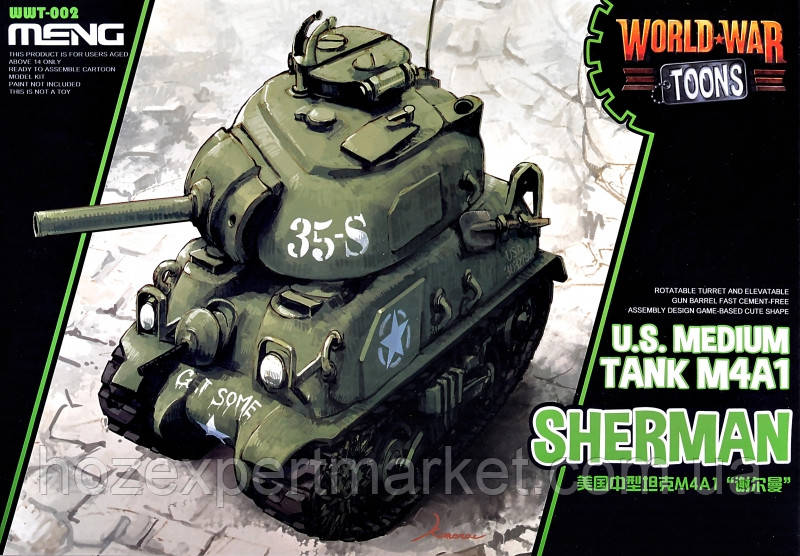 Американский танк M4A1 Sherman