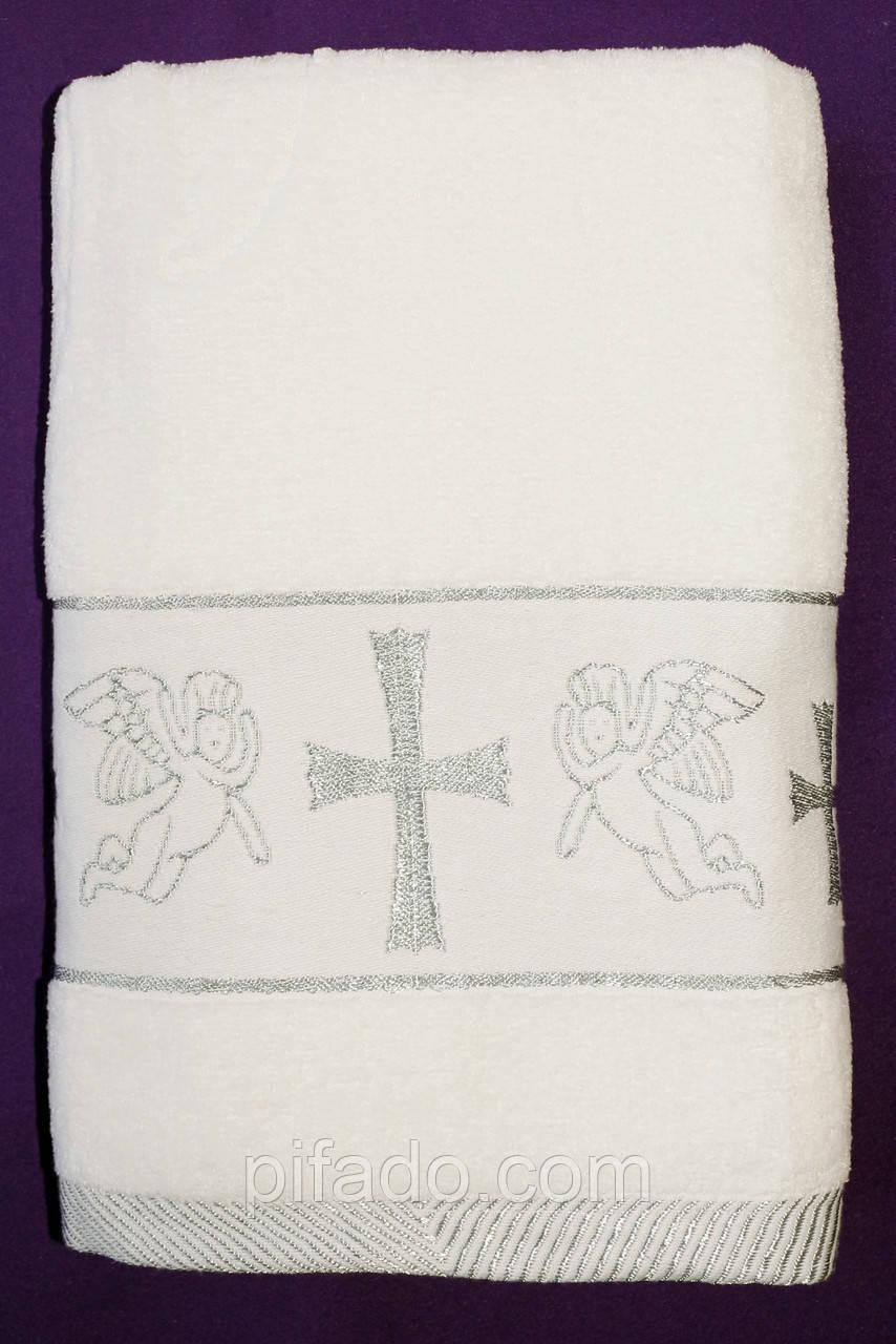 Крестильное полотенце (крыжма)  70х140. Модель FH-98