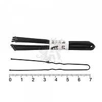 Шпилька для волос черная  7см