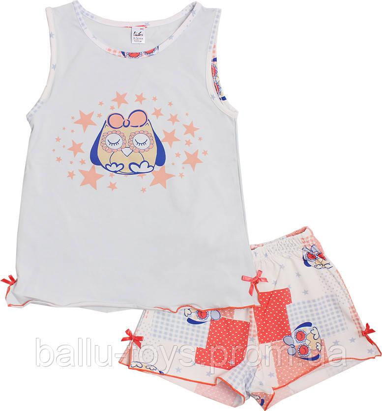 Пижамка для девочек Сова (6-20 лет)