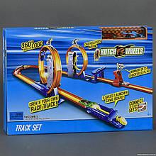 Автотрек Kutch Wheels с машинками