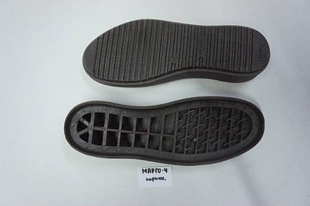 Подошва для обуви женская Марго-4 коричнева р.36-41, фото 2
