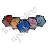 Гвозди ART-PIN Гексагон пластик