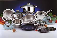 Набор посуды из нержавеющей стали  BergHOFF 17 предметов
