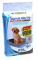 Пеленки для собак 14 шт. Croci Super Nappy Carbon с активированным углем