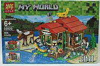 "Конструктор LELE ""My World"" 3 в 1, 404 детали, фото 1"