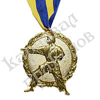 Медаль Спортивная большая Единоборства (золото)