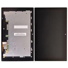 Экран (дисплей) для планшета Sony Xperia Tablet Z с сенсором (тачскрином) и рамкой черный Оригинал
