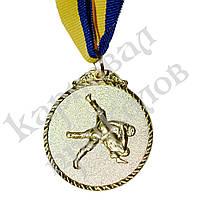 Медаль Спортивная маленькая Единоборства (золото)