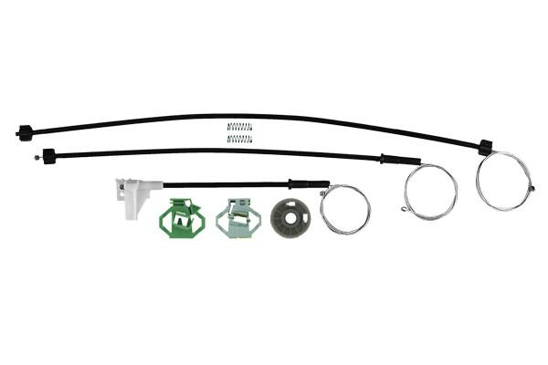 Ремкомплект механизма стеклоподъемника передней правой двери Seat Ibiza, cordoba 1993-2002