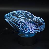 """3D Светильник """"Автомобиль"""""""