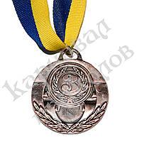 Медаль Спортивная маленькая (бронза), фото 1