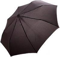 Классический зонт для мужчинполуавтомат черного цвета Doppler 730167-5, система антиветер