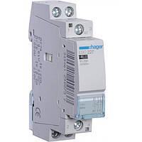 Контактор ESC227 25А, 1НО+1НЗ, 230В модульний Hager