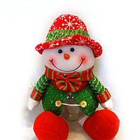 Снеговик колба для конфет
