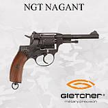 Пневматический револьвер GLETCHER NGT NAGANT НАГАН, фото 2