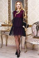 Платье Соня, ( 5цв) платье с сеткой, платье ажурное, дропшиппинг