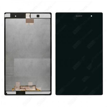 Экран (дисплей) для планшета Sony Xperia Tablet Z3 Compact (SGP611/SGP612) с сенсором (тачскрином) черный Оригинал