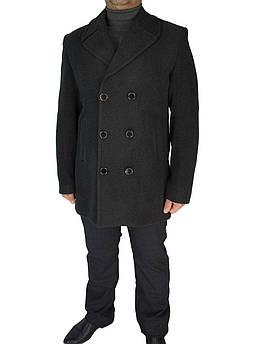 Мужское классическое пальто Anzi 226/6#02 в сером цвете