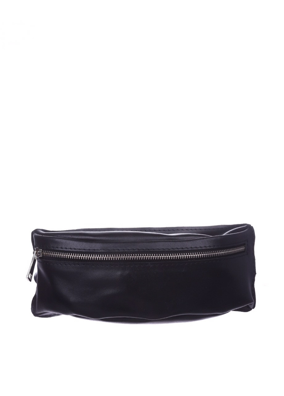 Поясная сумка кожаная DEKEY 1.0 черная
