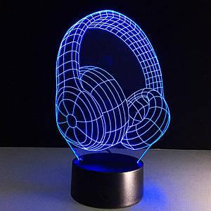 3D Светильник Наушники,