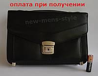 Мужская кожаная сумка барсетка кошелек портмоне клатч под Jeep Polo, фото 1