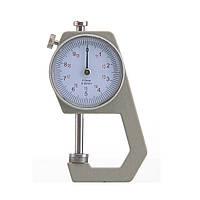 Карманный механически толщиномер TOL-1 0,1 мм/0-20 мм для бумаги, картона, железа, ткани, фото 1