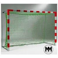 Сетка футбольная капроновая  для мини футбольных, гандбольных ворот #1, D-1,2мм
