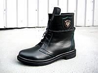 Женские кожаные зимние ботинки 36 -41 р-р