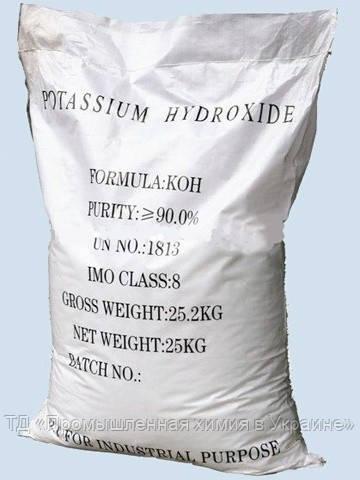 Гидроксиид калия (калиевый щёлок)