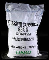 Карбонат калия (углекислый калий, поташ) K2CO3