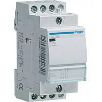 Контактор ESC325 25А, 3НО, 230В модульний Hager