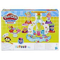 Плей-дох ігровий набір пластиліну Фабрика морозива Play-Doh