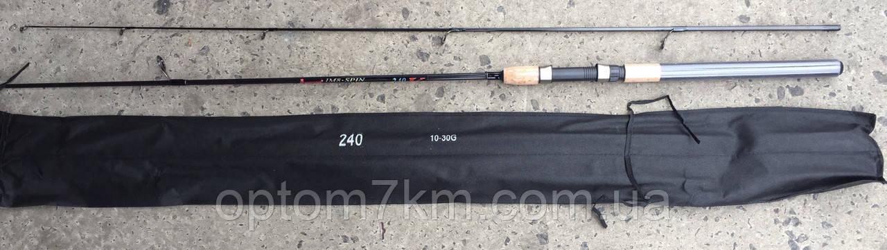Спиннинг Kumyang MI8 Spin 2,4m, тест 10-30 г