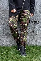 Штаны карго мужские милитари британка Cargo MAW Manandwolf street wear рип-стоп (50/50)