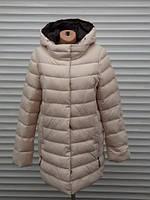 Зимняя женская куртка без меха большой размер