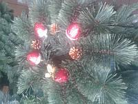 Веночек новогодний большой