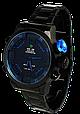 Мужские часы WEIDE Sport Watch BlackBlue, кварцевые, ВЕЙДЕ стальные синяя кнопка, реплика отличное качество, фото 3