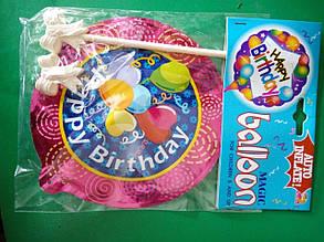 Кулька надувна фольгована Birthday МВА-1001V